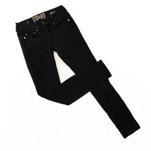 SO Black Skinny Jeans Size 1